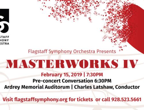 Masterworks IV: FSO Concert Highlights Flagstaff Soloist
