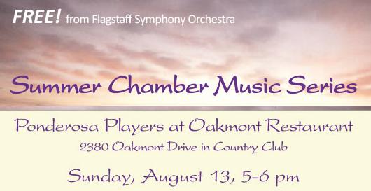 Summer Chamber Music Series – Ponderosa Players